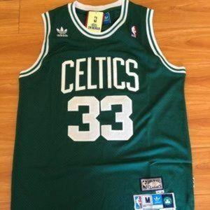 Larry bird Celtics throwback jersey